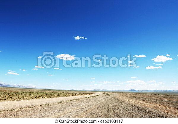 mongolian, ハイウェー - csp2103117