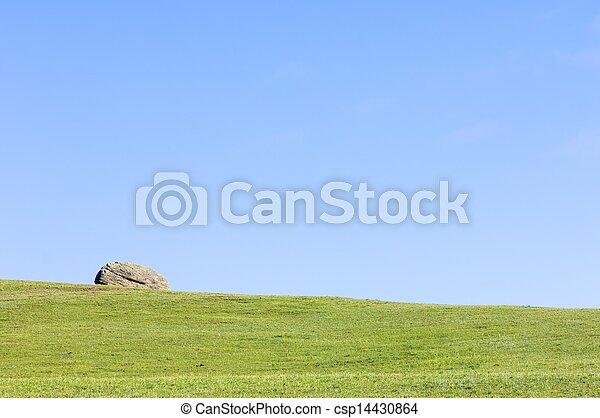 mongolian, 風景 - csp14430864