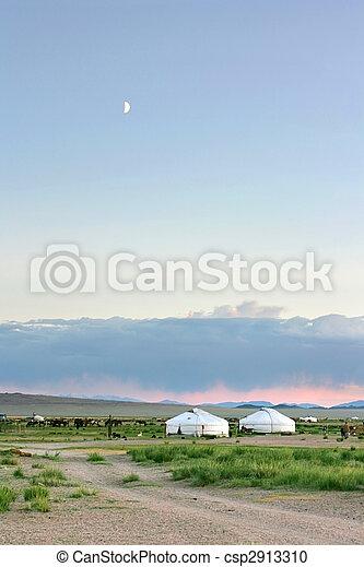 mongolian, 風景 - csp2913310