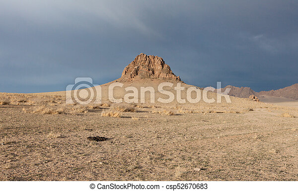 mongolian, 風景, 典型的 - csp52670683
