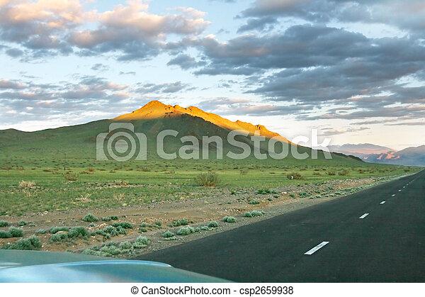 mongolian, 風景 - csp2659938