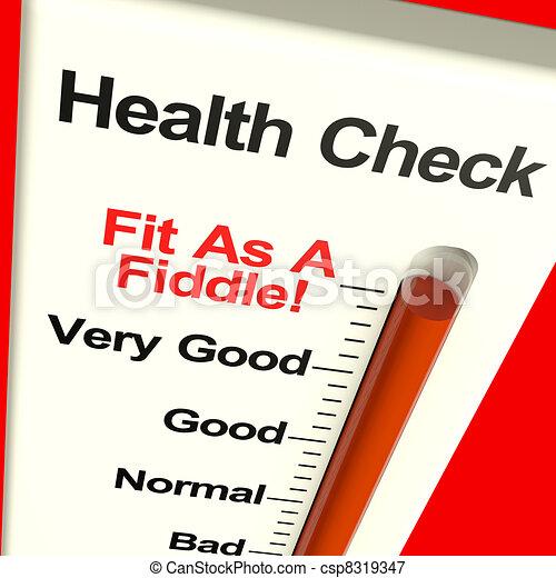 Der Gesundheitscheck