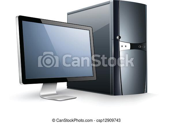 monitor computador - csp12909743