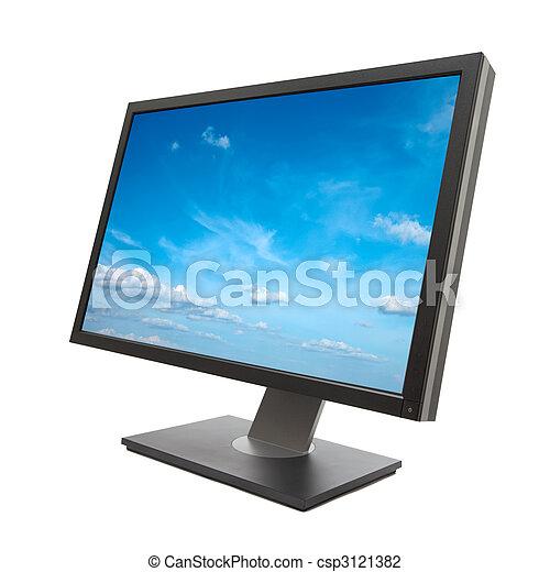 Monitor de computadora aislado - csp3121382