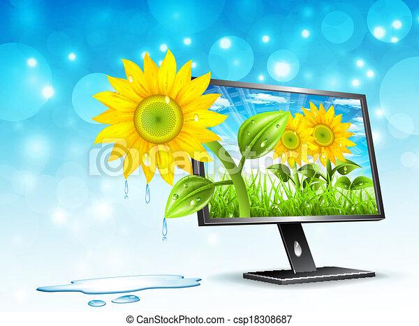 monitor - csp18308687