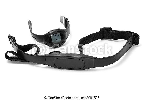 Control de ritmo cardíaco - csp3981595