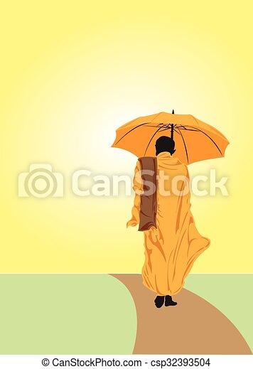 Monk. - csp32393504