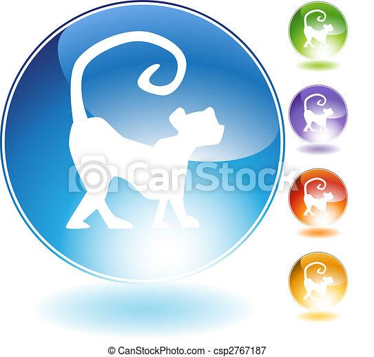 Monkey Crystal Icon - csp2767187