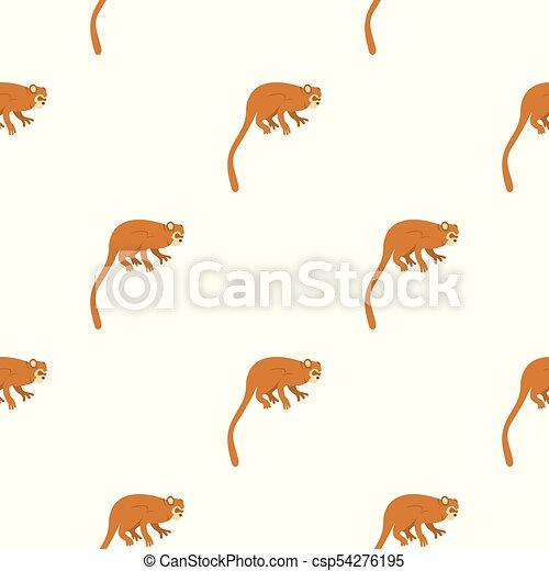 Monkey pattern seamless - csp54276195
