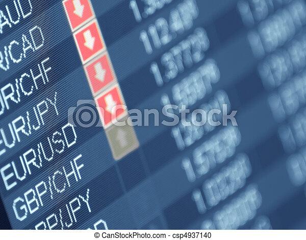 monnaie, commerce - csp4937140