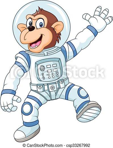 Un mono gracioso - csp33267992