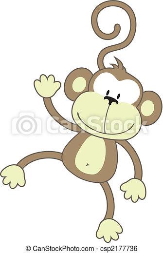mono, feliz - csp2177736