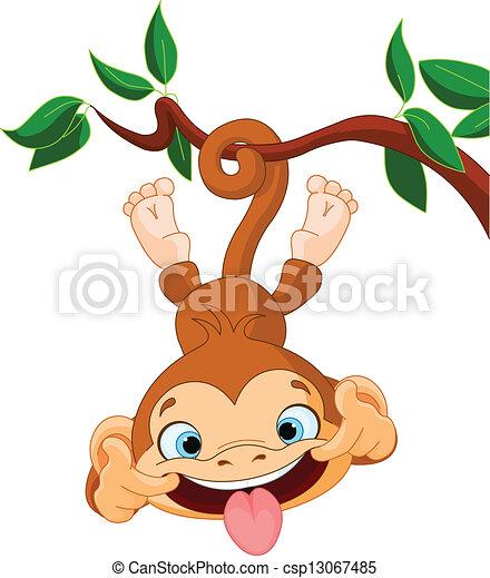 Canción de monos - csp13067485