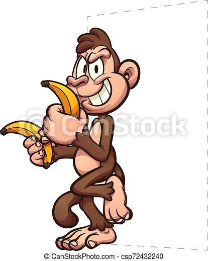 Bananas de mono - csp72432240