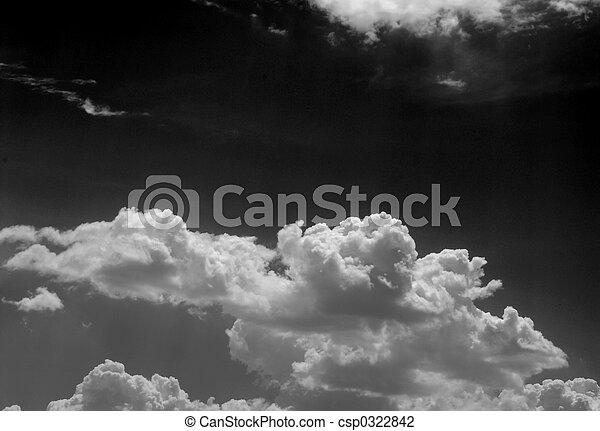 Monochome sky - csp0322842