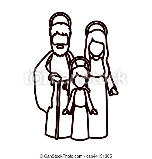 Clip Art Joseph Father Of Jesus - Awesome Graphic Library •