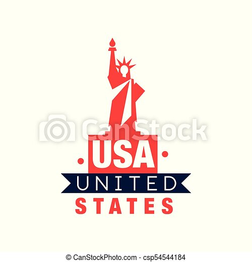 monochrome emblem with statue of liberty silhouette united rh canstockphoto ca statue of liberty looks like a man statue of liberty looks like a man
