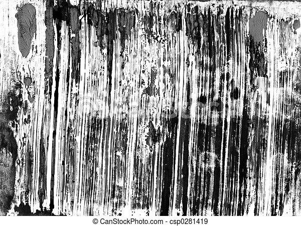 monoprint, watercolour - csp0281419