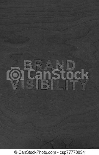 monotone, bâtiment, message, édition, marque, réussi, bureau, concept, business, visibilité - csp77778034