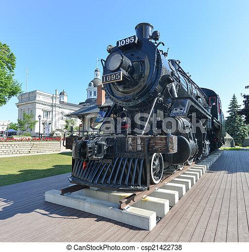 monsieur, locomotive, john, kingston, esprit - csp21422738
