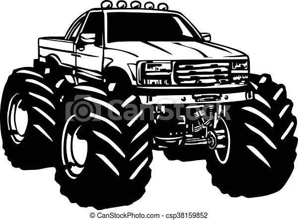 Monster Truck Cartoon Cartoon Monster Truck