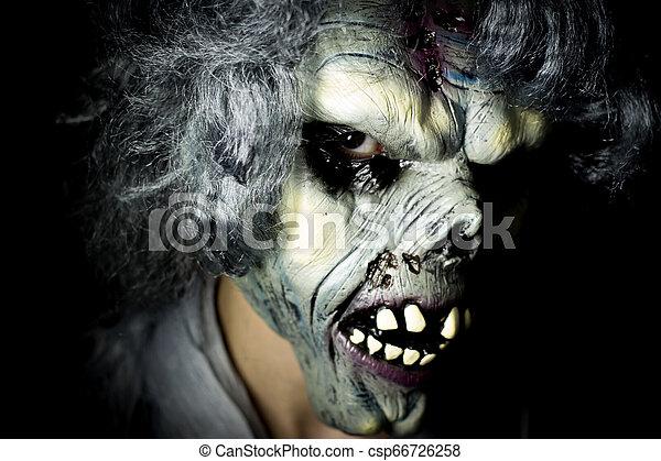 monster., undead, halloween - csp66726258