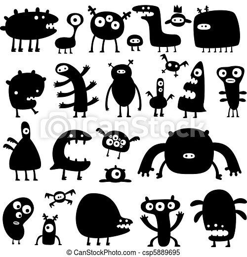 Monstruos - csp5889695