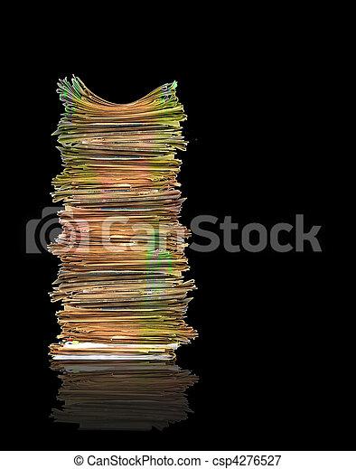 Montones de papeles - csp4276527