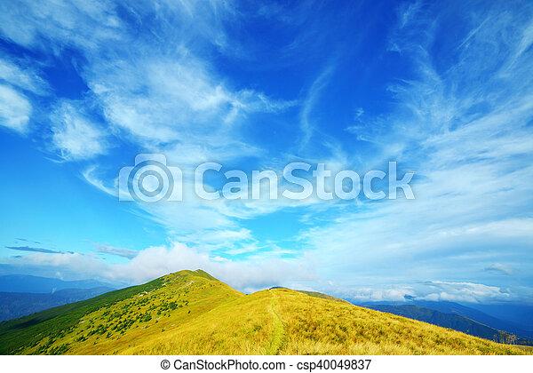 Montaña - csp40049837