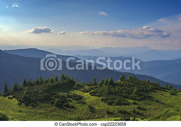 Montaña - csp22223658