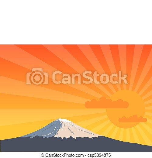 Montaña - csp5334875