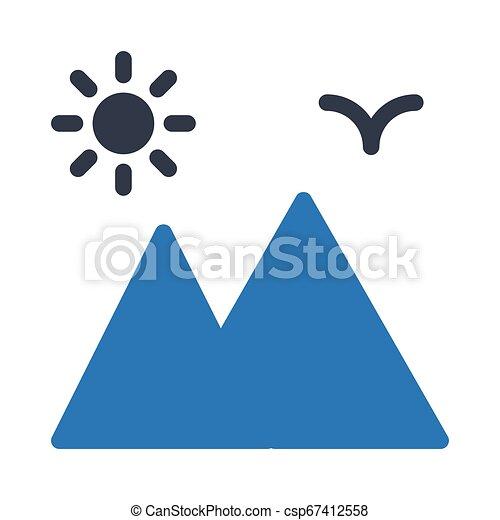 Montaña - csp67412558