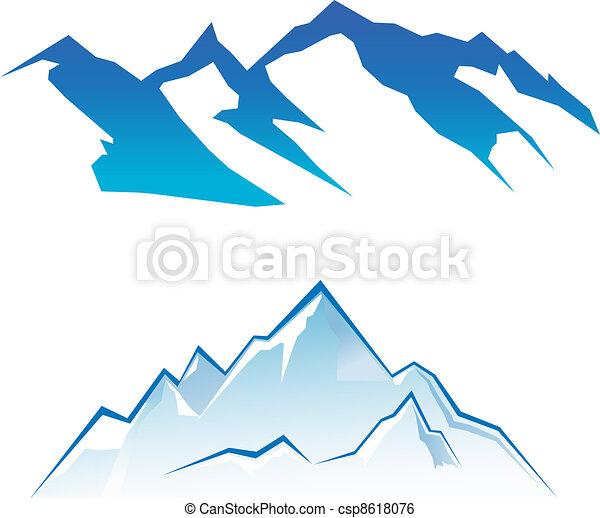 montaña, conjunto - csp8618076