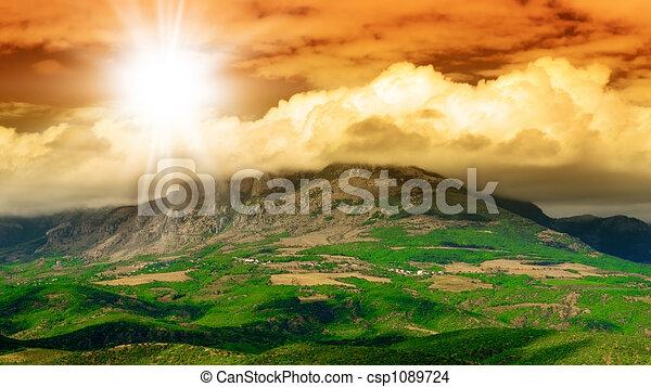 Montaña - csp1089724