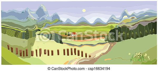 Montaña - csp16634194