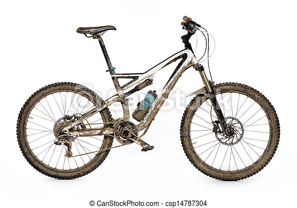 Bicicleta montañosa - csp14787304