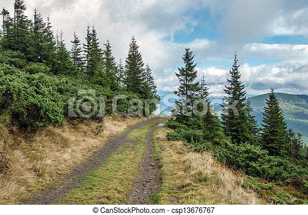 Montaña - csp13676767