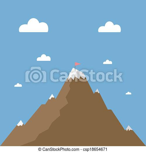 Montaña - csp18654671