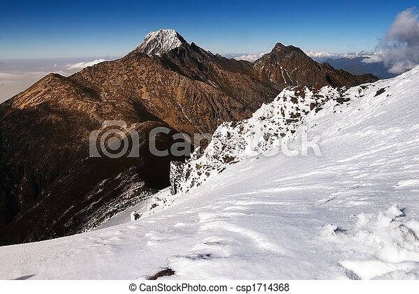 Jade de montaña y nieve - csp1714368