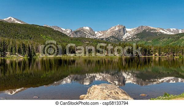 El parque nacional de Rocky Mountain - csp58133794