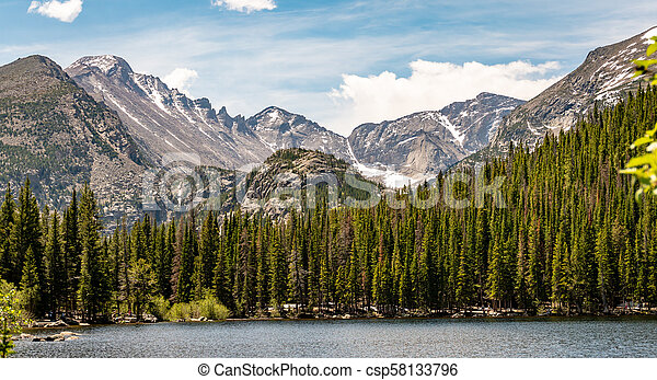 El parque nacional de Rocky Mountain - csp58133796