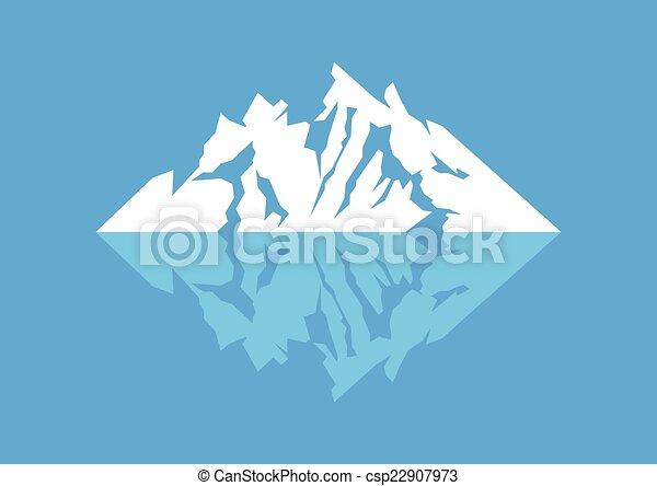 El símbolo de la montaña - csp22907973