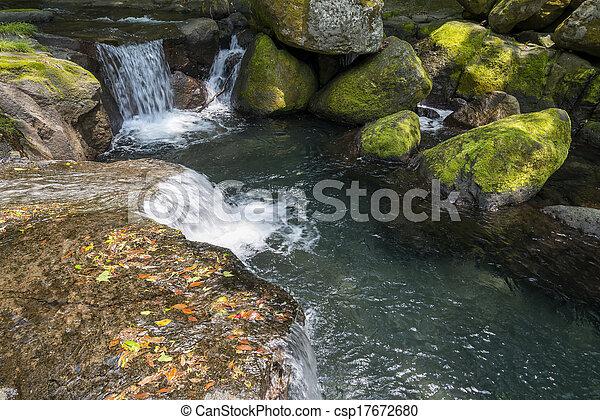 Un torrente de montaña - csp17672680