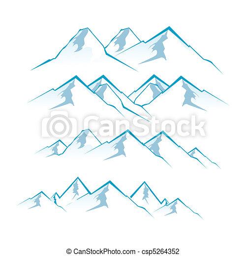 montañas - csp5264352