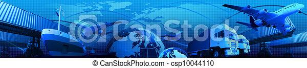 montage, freight/transport, photo - csp10044110