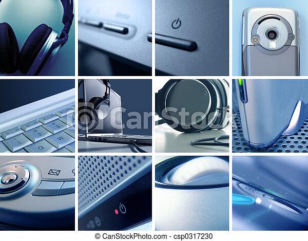montage, ii, technologie - csp0317230