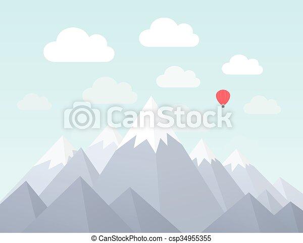 montagna, nature2 - csp34955355