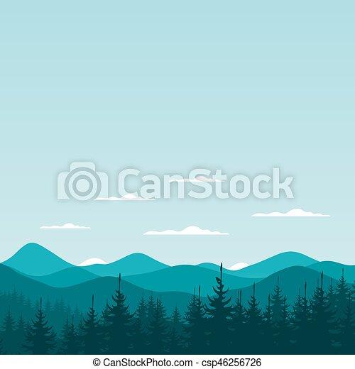 montagna, nature6 - csp46256726