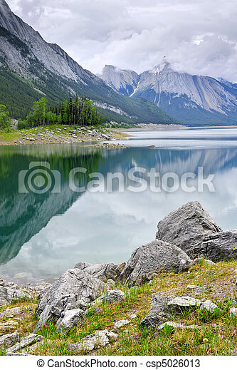 montagna, parco nazionale, lago, diaspro - csp5026013