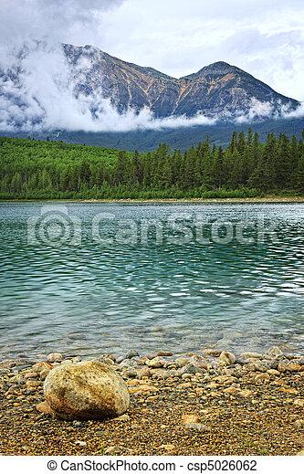 montagna, parco nazionale, lago, diaspro - csp5026062